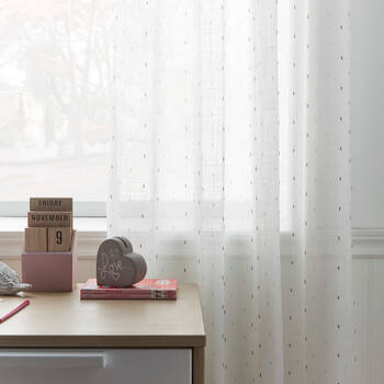 Sprinkles Sheer Curtain