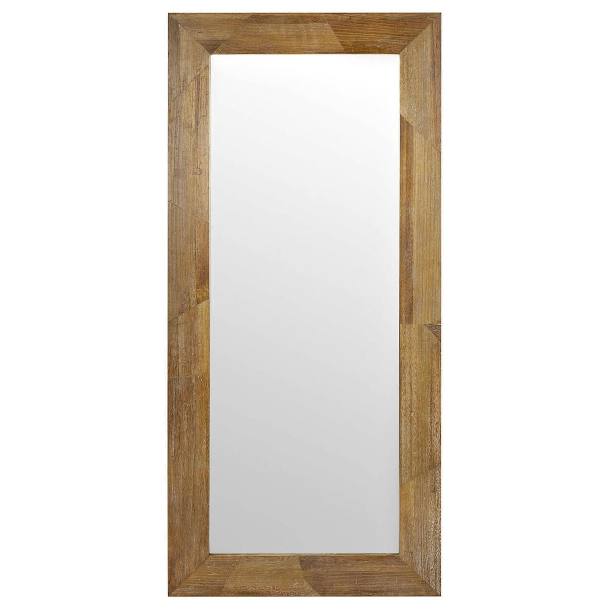 miroir avec cadre en bois. Black Bedroom Furniture Sets. Home Design Ideas