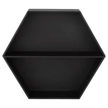 Hexagonal Wall Shelf