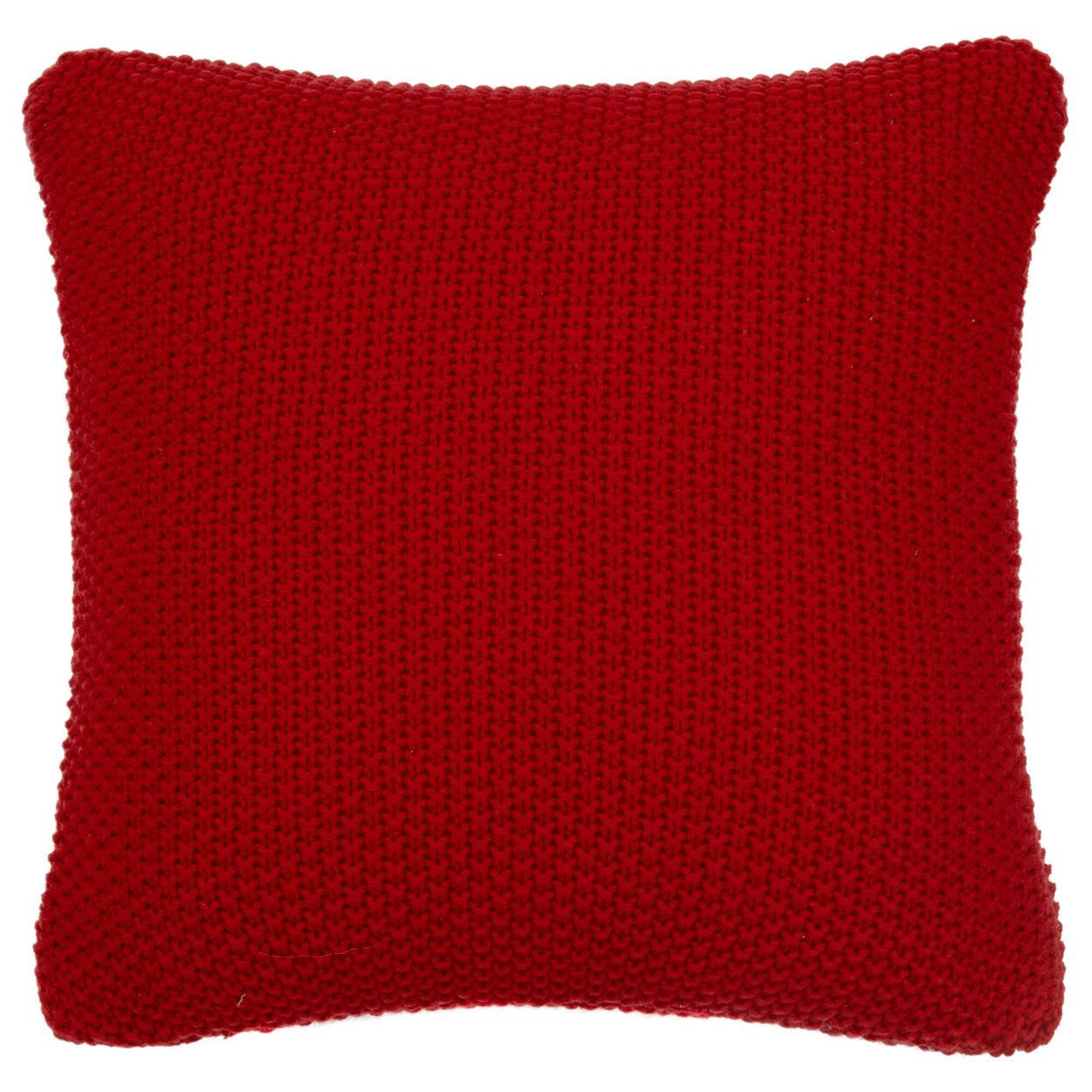 """Coussin décoratif en tricot Dalya 18"""" X 18"""""""