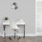 Quatrefoil Wallpaper - Double Roll