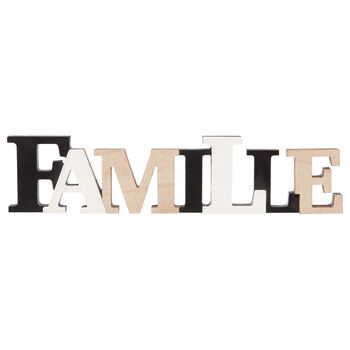 Decorative Word Famille
