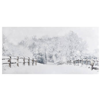 Country Landscape Printed Canvas