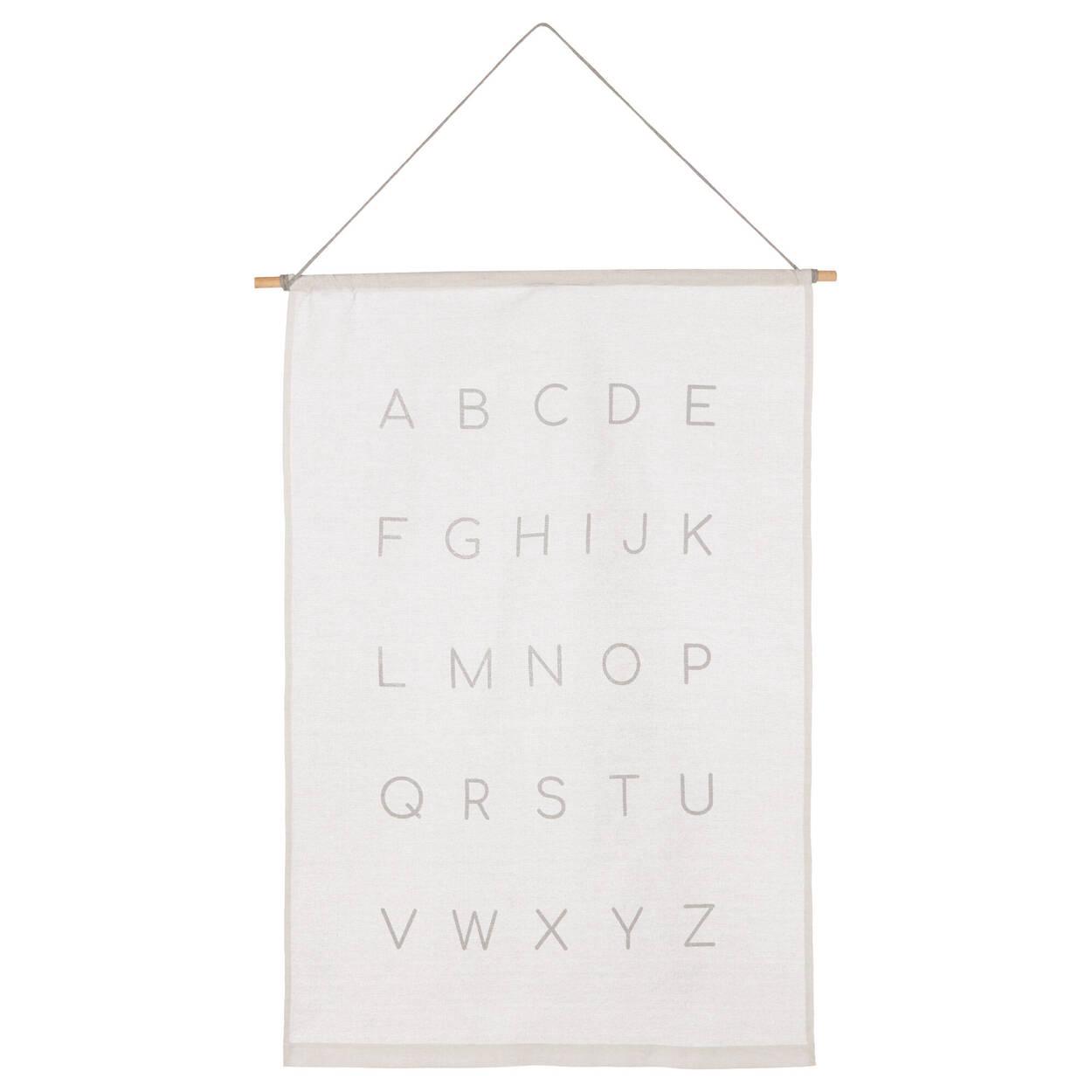Toile murale alphabet
