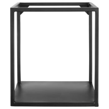 Cynthia Dulude - Cube Iron Shelf