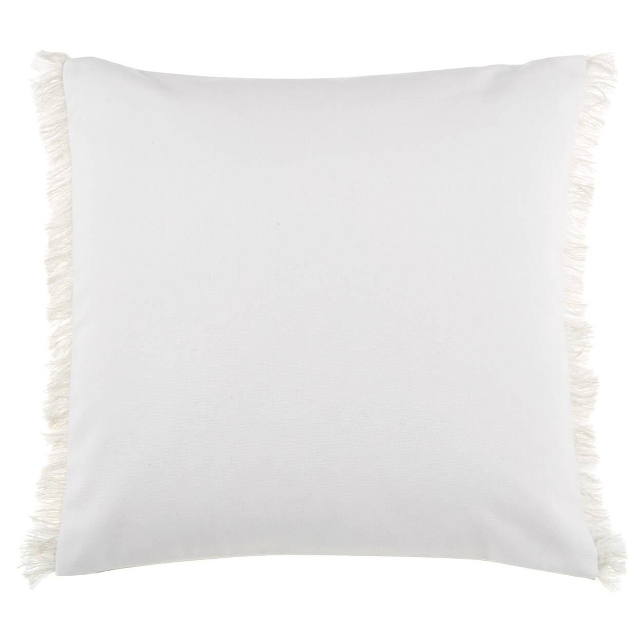 "Amina English Typography Decorative Pillow 19"" x 19"""