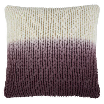 "Sigi Knitted Decorative Ombré Pillow 17"" X 17"""