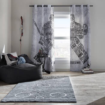 Davin Set of 2 Panel Curtains