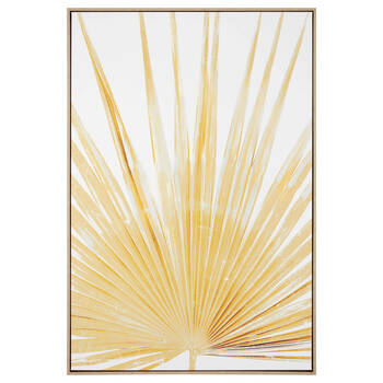 Yellow Palm Framed Art