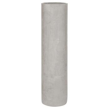 Grand vase en ciment