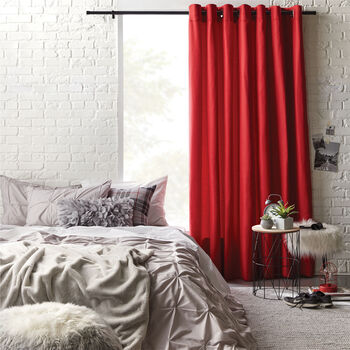 Bunga Square Grommet Curtain