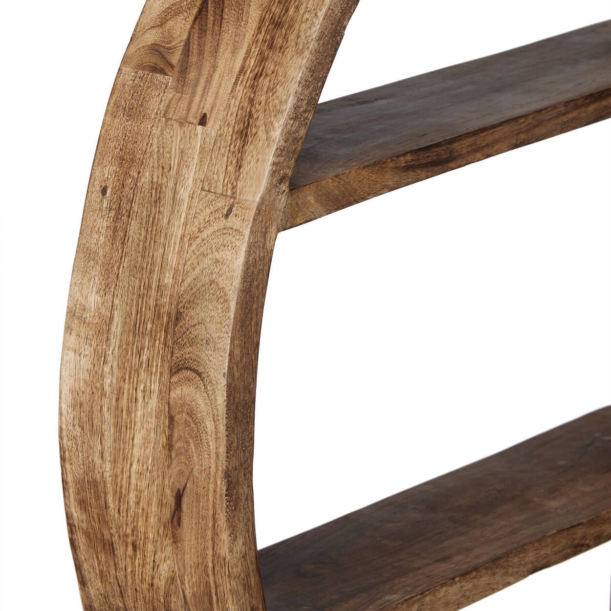 Étagère en bois de manguier