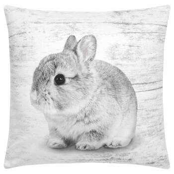 "Baby Rabbit Decorative Pillow 15"" X 15"""