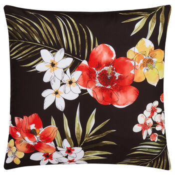 "Maana Floral Decorative Pillow Cover 18"" X 18"""