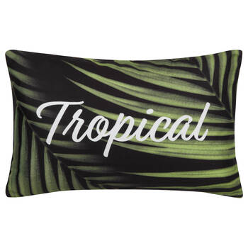 "Tropical Water-Repellent Decorative Pillow 18"" X 18"""