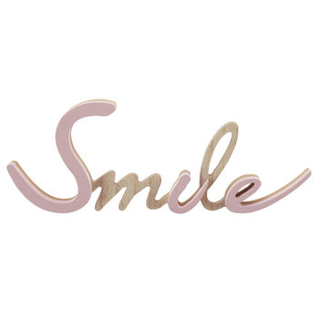 Decorative Word Smile