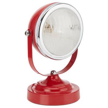 Lampe de table phare de voiture en métal