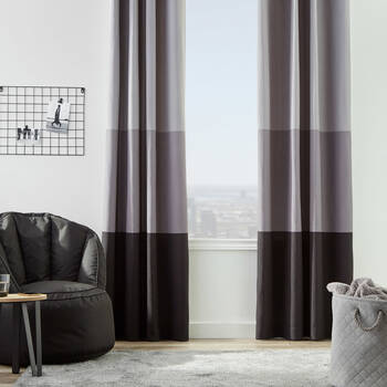 Xavier Colour-Blocked Curtain