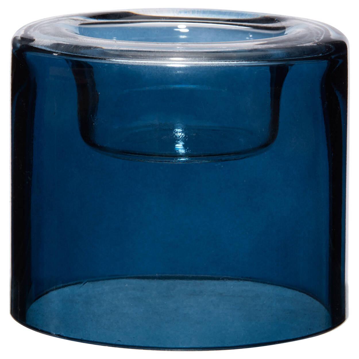 Porte-bougie en verre