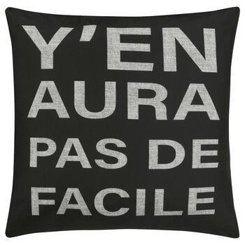 "Facile Decorative Pillow Cover 18"" X 18"""