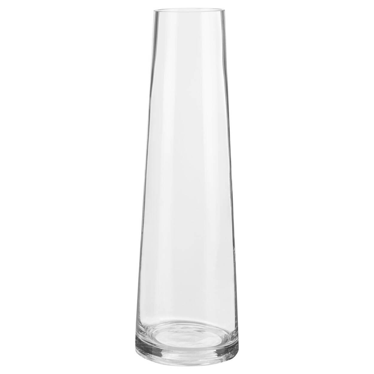 Vase de table en verre
