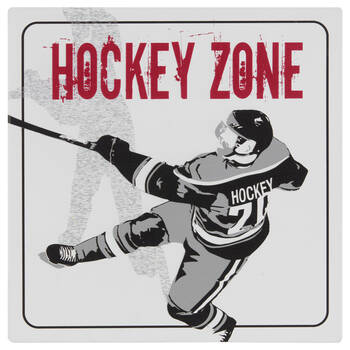 Hockey Wall Plaque