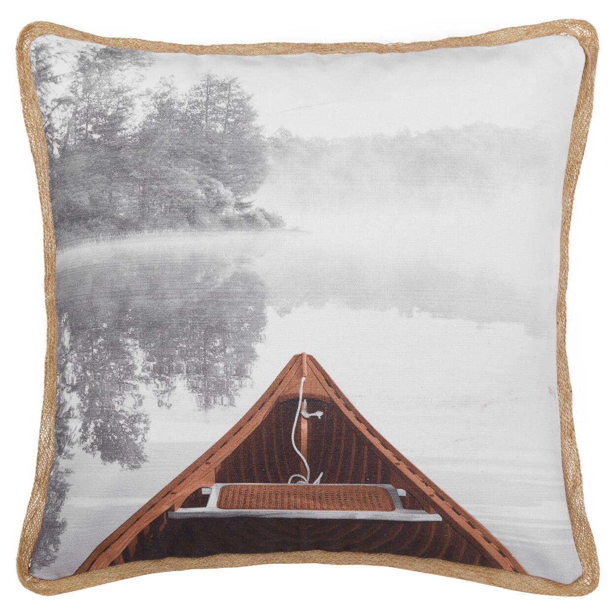 """Calm Lake Decorative Pillow 19"""" X 19"""""""
