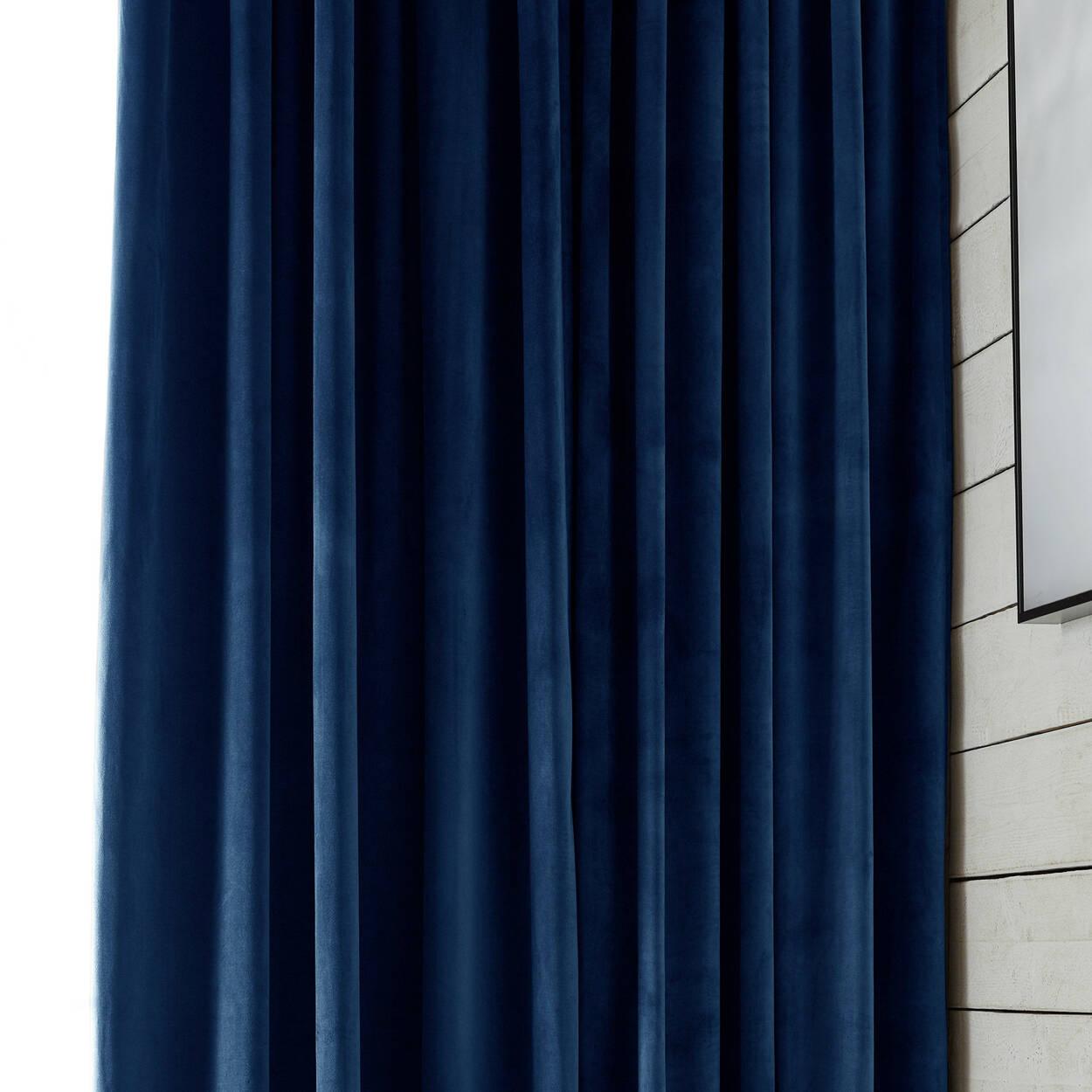 Elia Velvet Panel Curtain