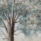 Blue Tree Oil Painting