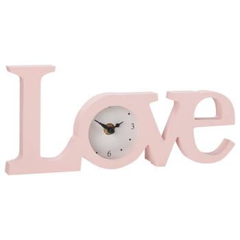 Horloge de table Love