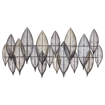 Metal Leaves Wall Art