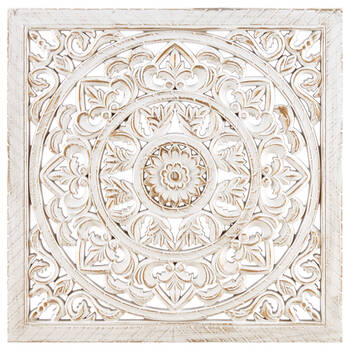 Carved Wood Wall Art