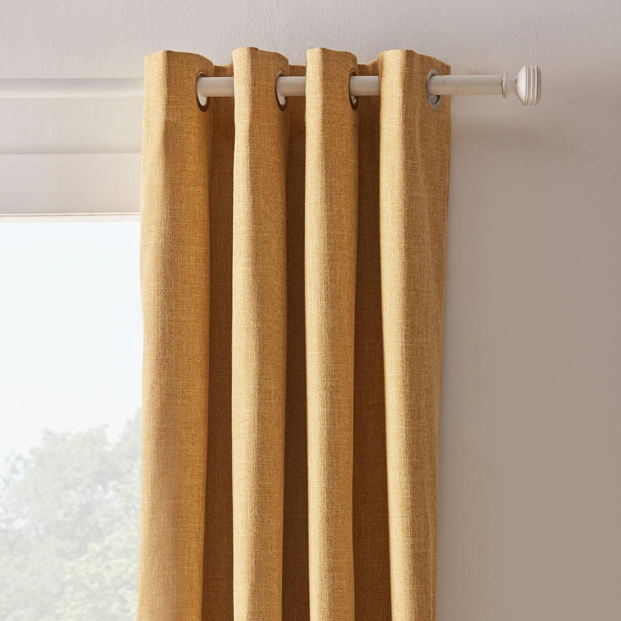 Vintage Finish Curtain Rod Set - Diameter 25/28 mm