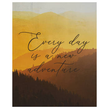 Every Day Printed Canvas