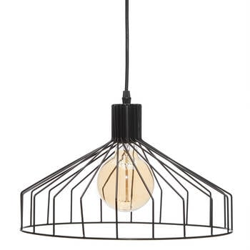 Metal Cage Ceiling Lamp