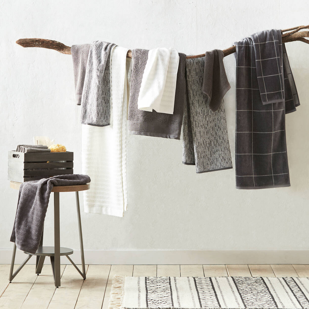 Checkered Washcloth