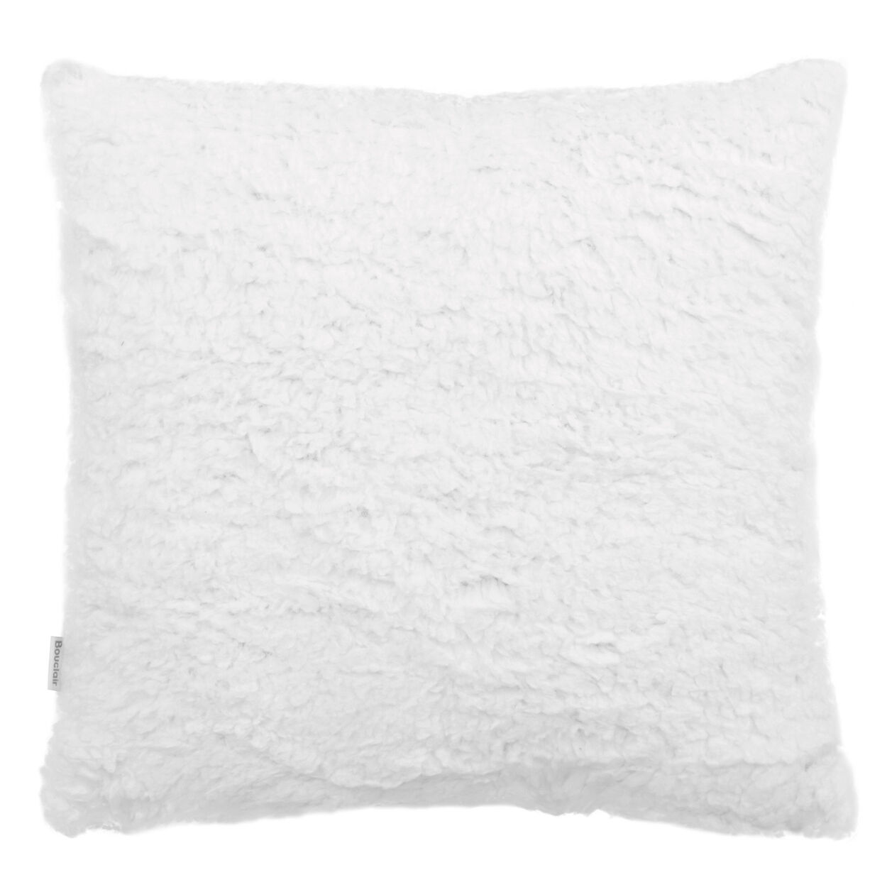 "Grandma's Sherpa-Lined Decorative Pillow 15"" X 15"""