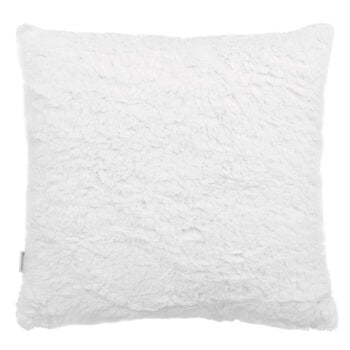 "Grandma's Sherpa-Lined Decorative Pillow 15"" X 15"""