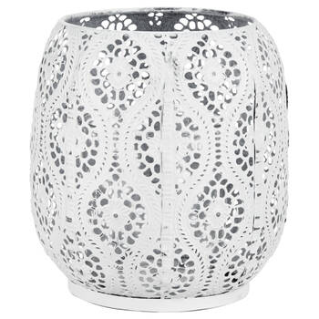 Metal Cut-Out Candle Holder