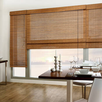 Tahiti Bamboo Roman Shade