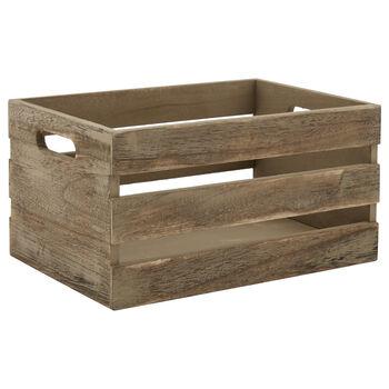 Medium Wooden Crate