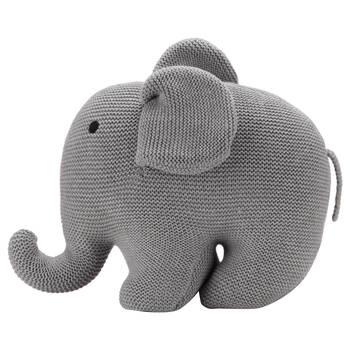 Toutou éléphant en tricot