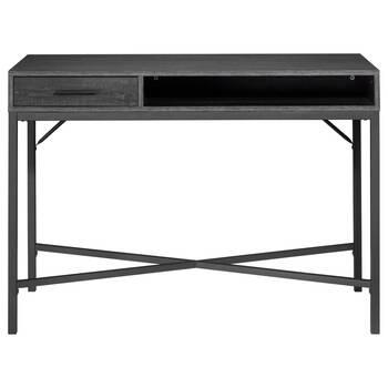 Veneer and Metal Desk