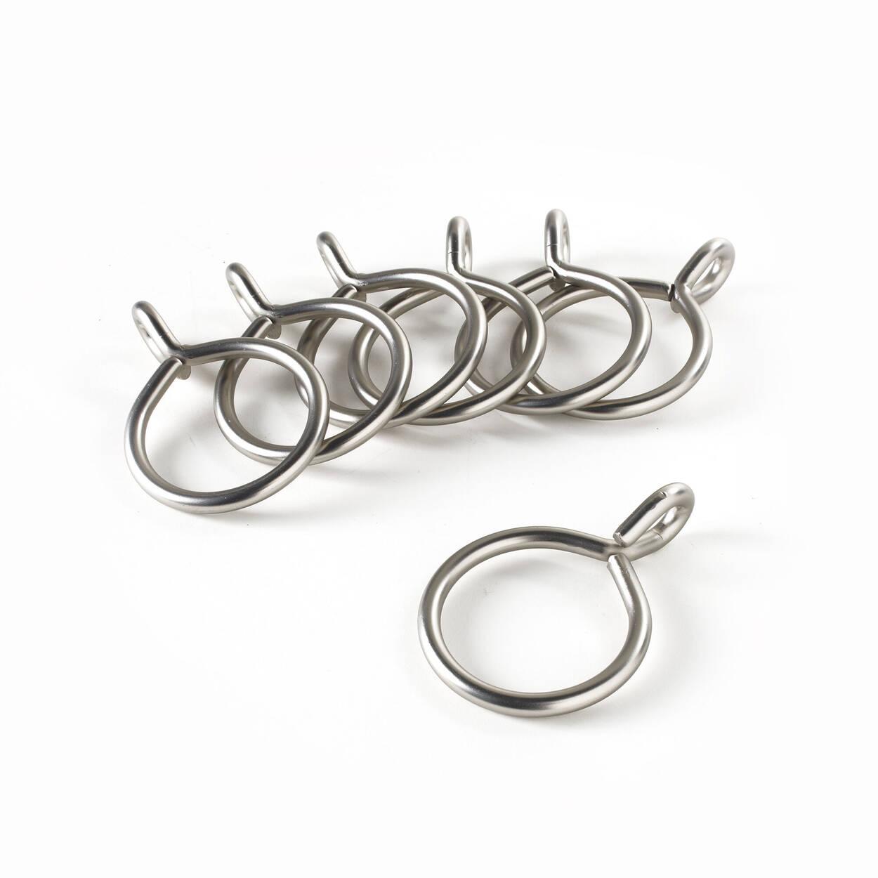 Ensemble de 7 anneaux à oeillet en métal