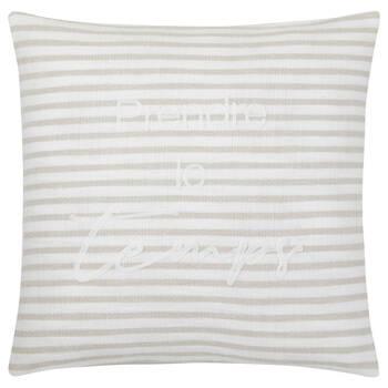 """Zoja Prendre le temps Decorative Pillow with 19"""" x 19"""""""