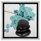 Flower and Stone Framed Art II