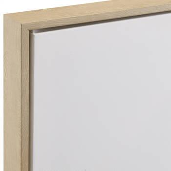 White Horses Framed Canvas