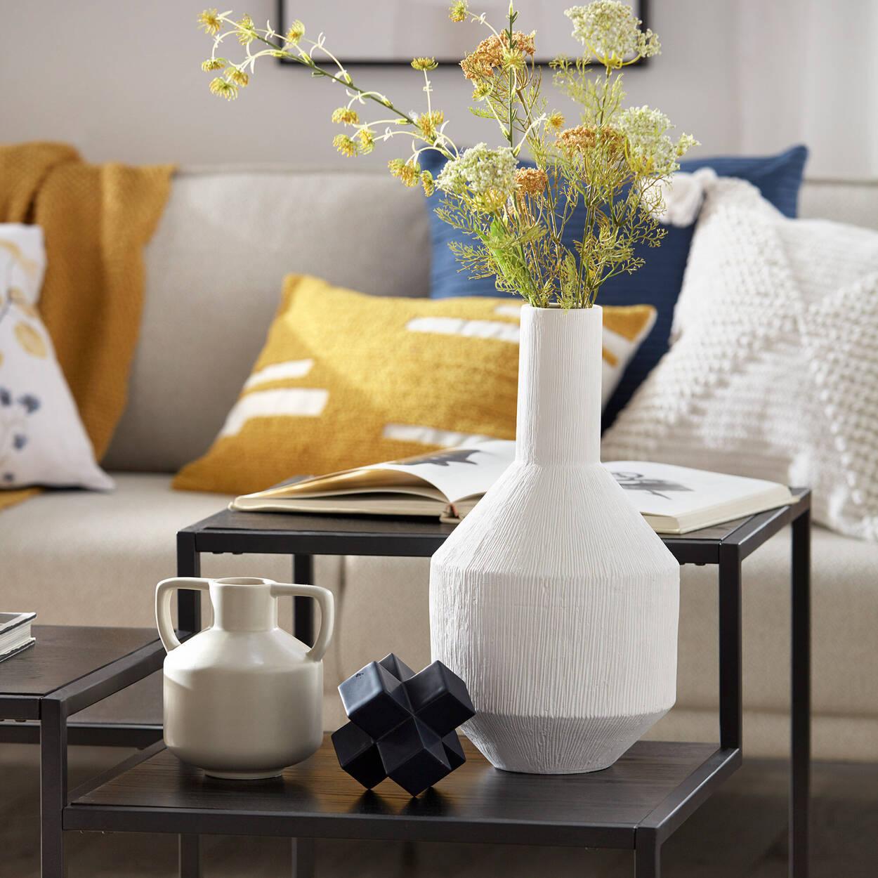 Angular Ceramic Vase