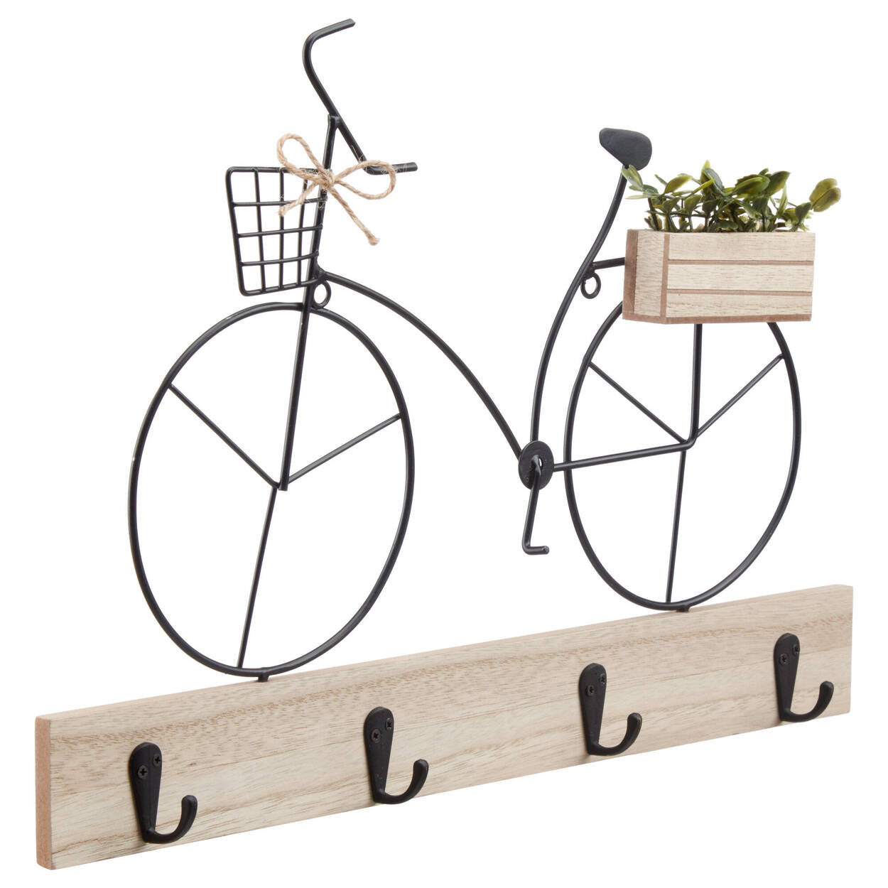 Bicycle-Themed Hook Rack