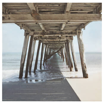 Under the Pier Printed Canvas